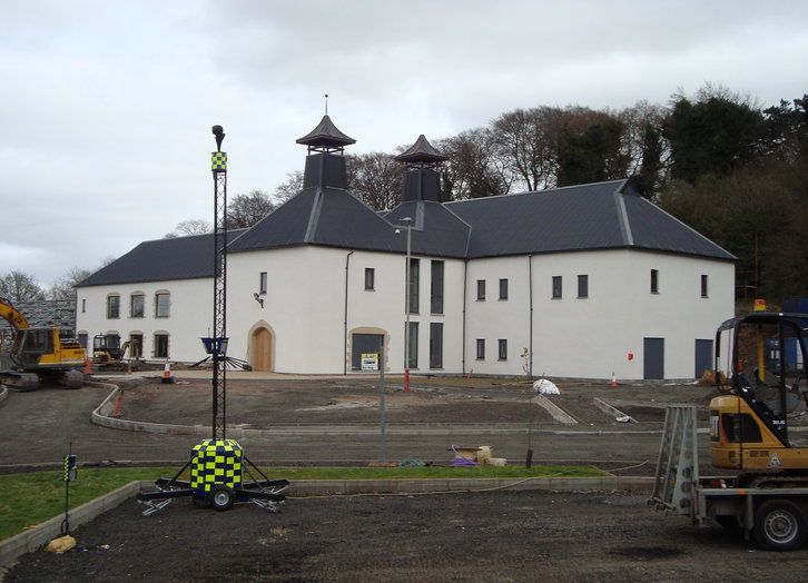 neue Falkirk-Distillery - in Bau - Stand April 2017