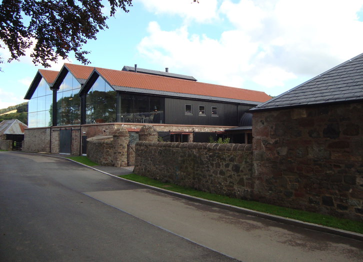 Lindores Abbey Distillery, in Planung