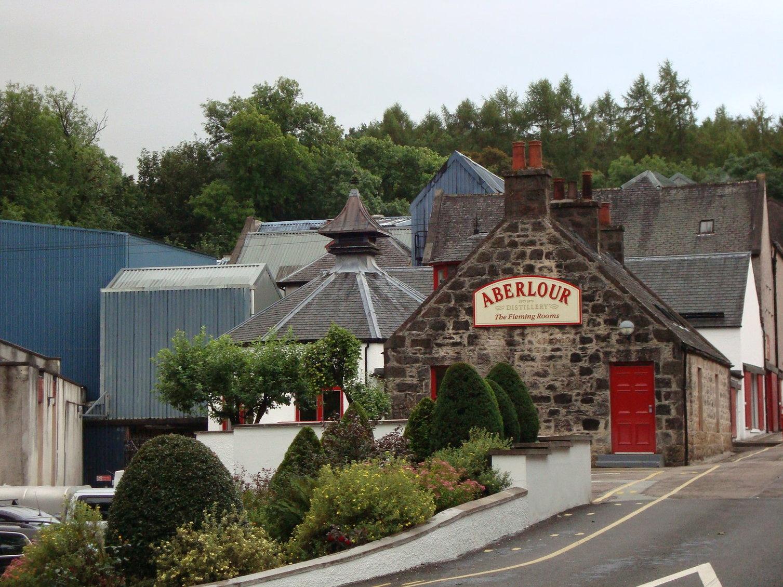 The Aberlour distillery