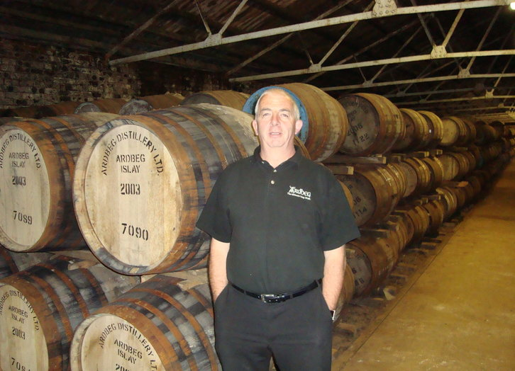 Mickey Heads - Distillerymanager von Ardbeg