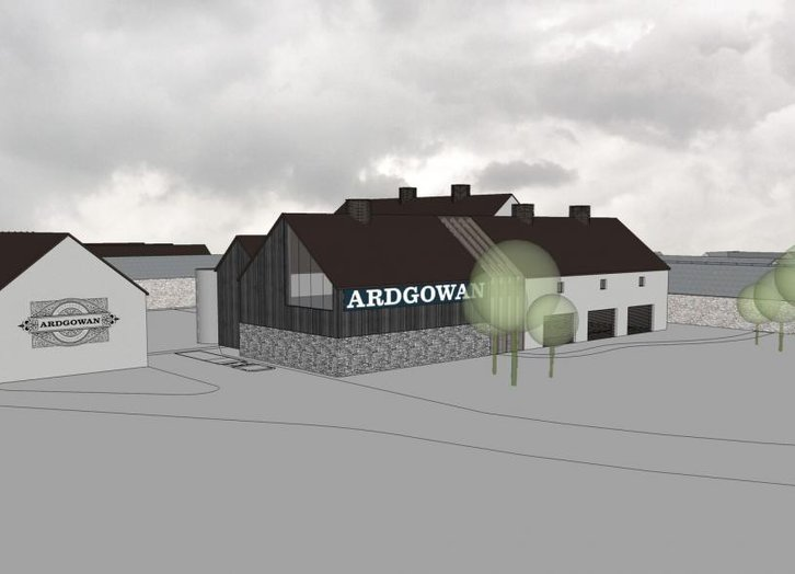 Ardgowan Distillery Plan