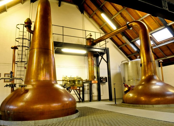 Arran Stills und Spirit-Safe © Arran Distillers