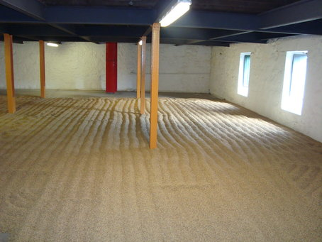 Malting Floors bei Springbank
