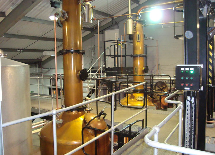 Penderyn Distillery - Faraday Still