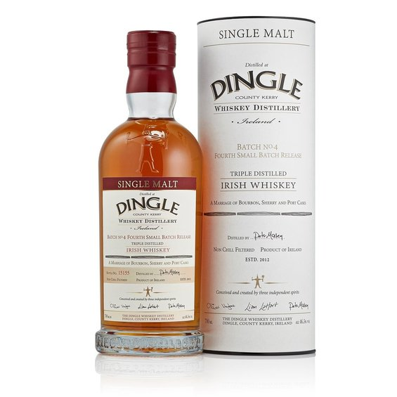 Dingle Irish Whiskey batch IV OA