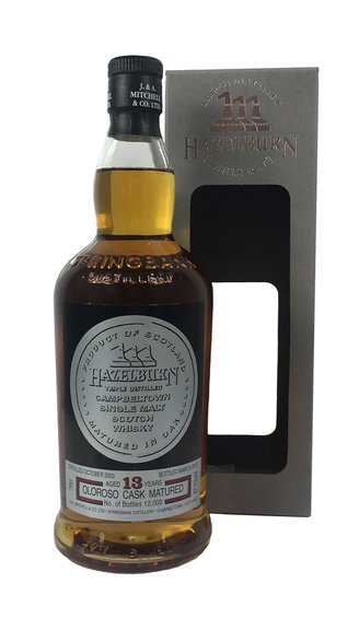 Hazelburn sherry wood 13y OA