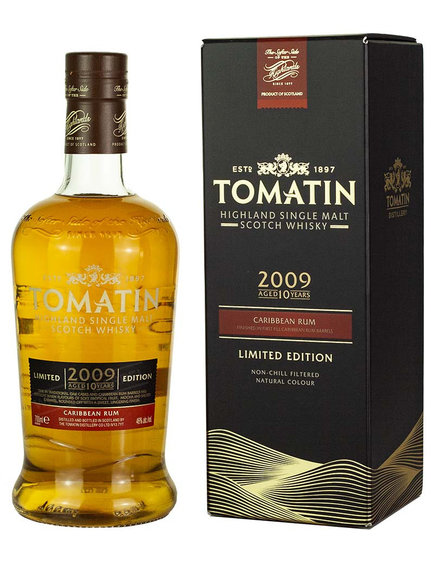 Tomatin Rum 10y 2009 OA