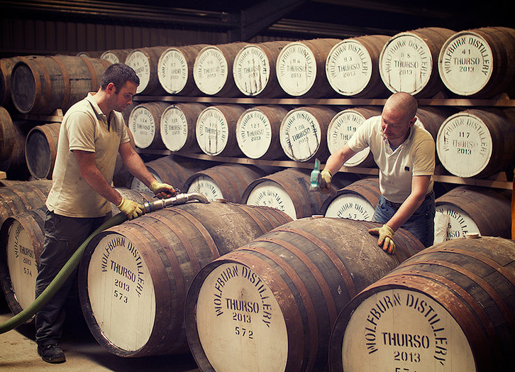 Wolfburn - Warehouse © Wolfburn Distillery